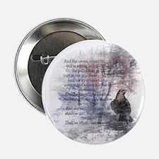 "The Raven Edgar Allen Poe 2.25"" Button (10 Pa"
