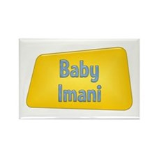 Baby Imani Rectangle Magnet
