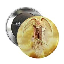 """angel michael 2.25"""" Button (10 pack)"""