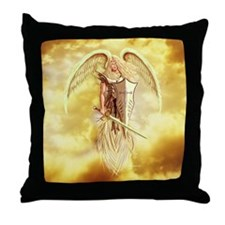 angel michael Throw Pillow