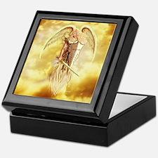 angel michael Keepsake Box
