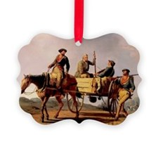 Veterans of 1776 Returing from th Ornament