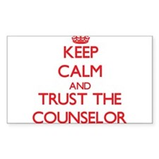 Keep Calm and Trust the Counselor Decal