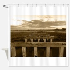 Pitt Street Bridge Shower Curtain