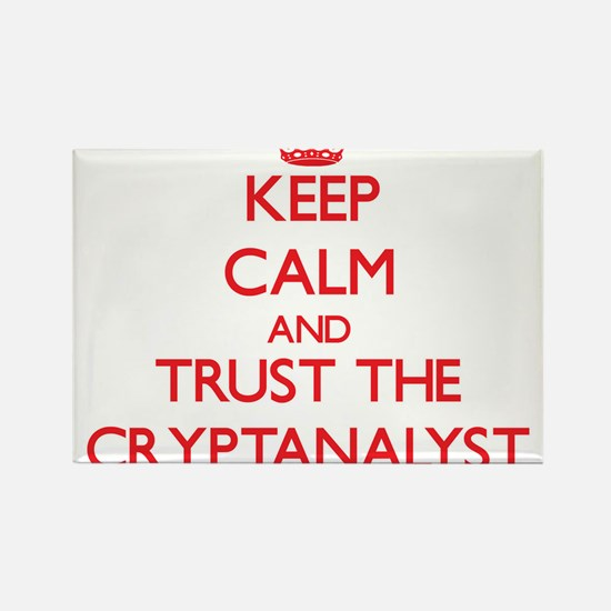Keep Calm and Trust the Cryptanalyst Magnets