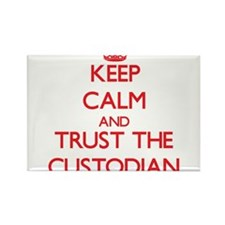 Keep Calm and Trust the Custodian Magnets