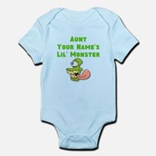 Aunt (Your Names) Lil Monster Body Suit