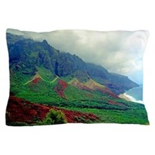 Kalalau Valley Kauai Hawaii Tropical Pillow Case