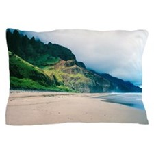 Kalalau Beach Kauai Hawaii Tropical Pillow Case