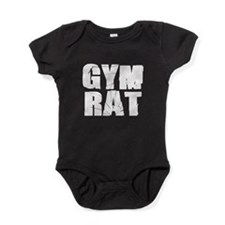 Gym Rat Baby Bodysuit