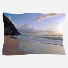 Kalalau Sunset Kauai Hawaii Tropical Pillow Case