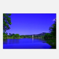 Lake and Bell Tower Postcards (Package of 8)