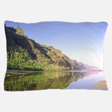 Na Pali Coast Kauai Hawaii Tropical Pillow Case