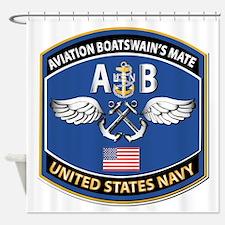 Aviation Boatswain's Mate - Nec Shower Curtain