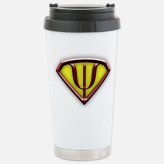 Superhero Psychologist Travel Mug