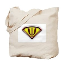 Superhero Psychologist Tote Bag