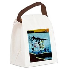 New York Eats Its Young Canvas Lunch Bag