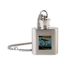 New York Eats Its Young Flask Necklace