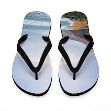Kalalau Beach Rainbow Hawaii Tropical Flip Flops