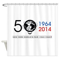 The Unisphere Turns 50! Shower Curtain