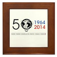The Unisphere Turns 50! Framed Tile