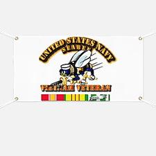 Navy - Seabee - Vietnam Vet Banner
