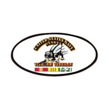 Navy - Seabee - Vietnam Vet Patches