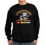 Military seabees Sweatshirt (dark)
