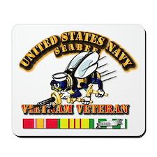 Navy - Seabee - Vietnam Vet Mousepad