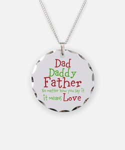 Dad,Daddy,Father Necklace