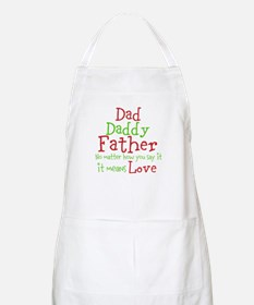 Dad,Daddy,Father Apron