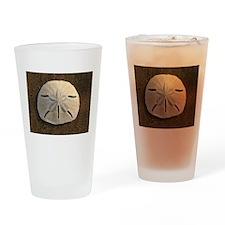 Sand Dollar Seashell Drinking Glass