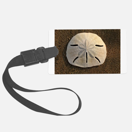 Sand Dollar Seashell Luggage Tag
