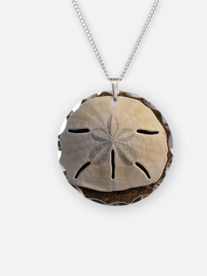 Sand Dollar Seashell Necklace