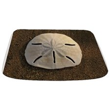 Sand Dollar Seashell Bathmat