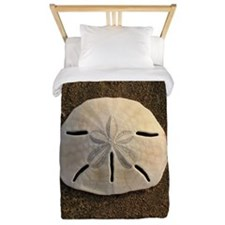 Sand Dollar Seashell Twin Duvet