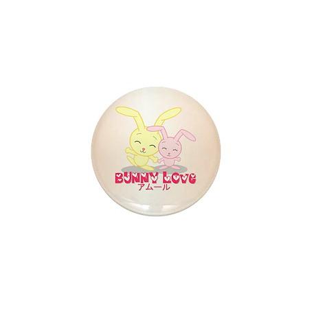 Bunny Love Mini Button