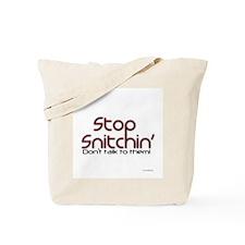 Snitchin3 Tote Bag