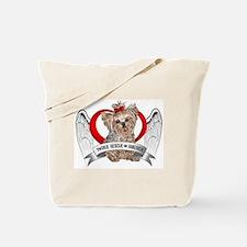 Yroa I Love Yorkie Rescue Of America Tote Bag