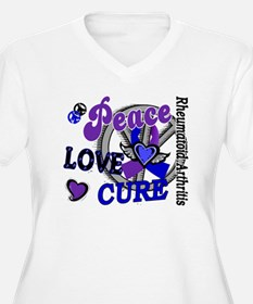 RA Peace Love Cur T-Shirt