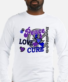 RA Peace Love Cure 2 Long Sleeve T-Shirt