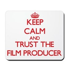 Keep Calm and Trust the Film Producer Mousepad