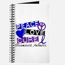 RA Peace Love Cure 1 Journal