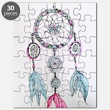 Watercolor Dreamcatcher Puzzle