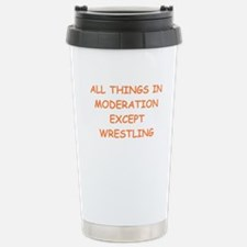 WRESTLING Travel Mug