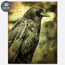 Vintage Crow Puzzle