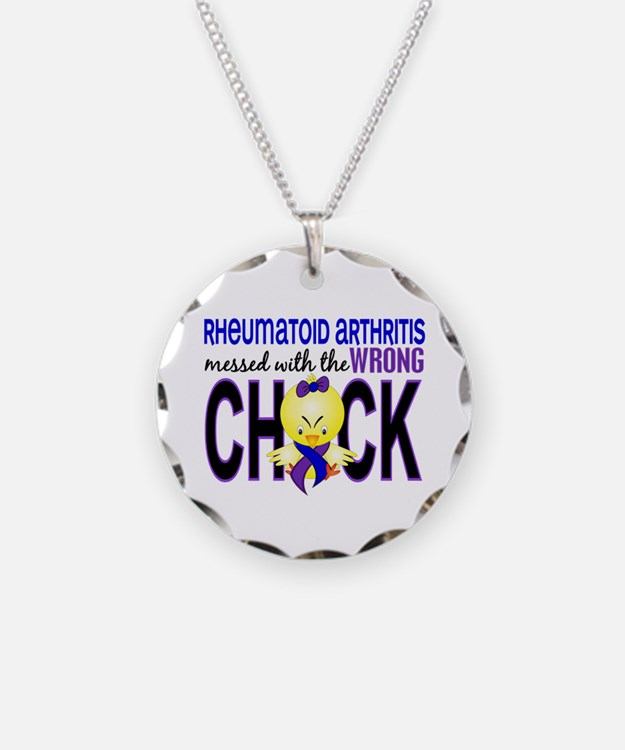 RA Wrong Chick 1 Necklace Circle Charm