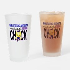 RA Wrong Chick 1 Drinking Glass