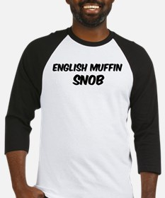 English Muffin Baseball Jersey