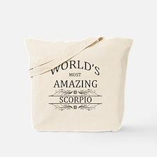 World's Most Amazing Scorpio Tote Bag